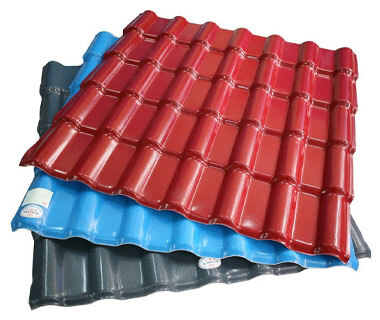 Cold Rolled Color Coated PVC Roofing Sheet Plates