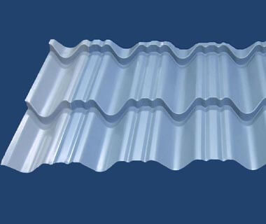 Cold Rolled Anti-condensation Felt Corrugated Roofing Tile Steel Sheet