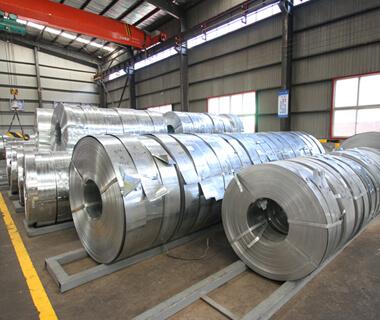 DIN GI Galvanized Steel Strip Coils Galvanized Metal Plate