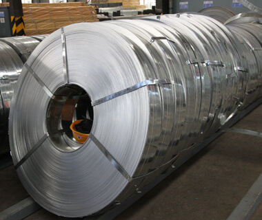 DIN GI Galvanized Steel Strip Coils Galvanized Metal Plate