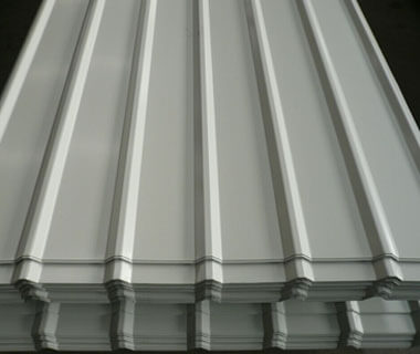 Factory Price Metal Prepainted Corrugated Steel Roofing Sheet Trapezoid Plate