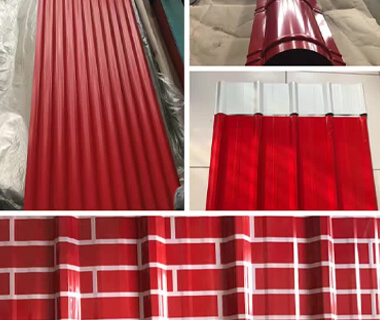 High-quality Galvanized Trapezoid Corrugated Metal Roofing Sheet Plates