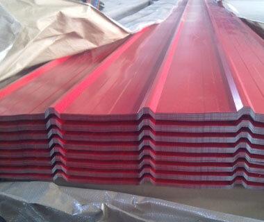 China Factory Price Wavy Trapezoid Shape Galvanized Corrugated Roofing Sheet