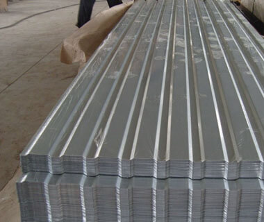 Supplier Zinc Galvanized Corrugated Steel Iron Trapezoid Type Roof Sheet