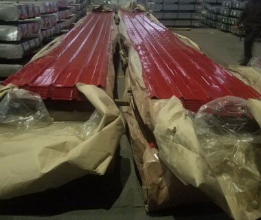 Cold Rolled Prepainted Trapezoidal Roofing Sheet Corrugated Plates