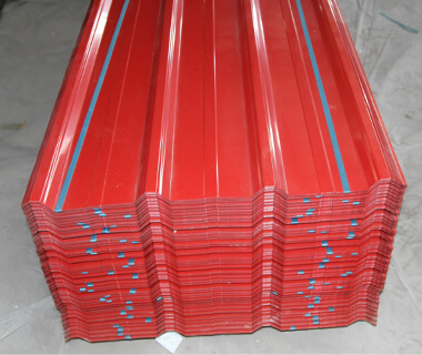 Colorful Trapezoidal Steel Sheet Corrugated Metal Plates for Roofing